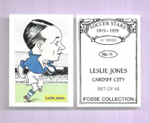 Cardiff City Leslie Jones 11 (FC)
